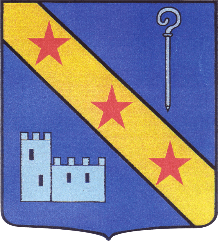 Blason Bourg Saint Christophe